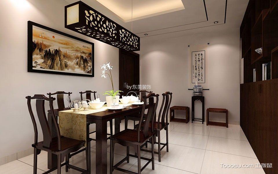 2019中式餐厅效果图 2019中式餐桌装修图片