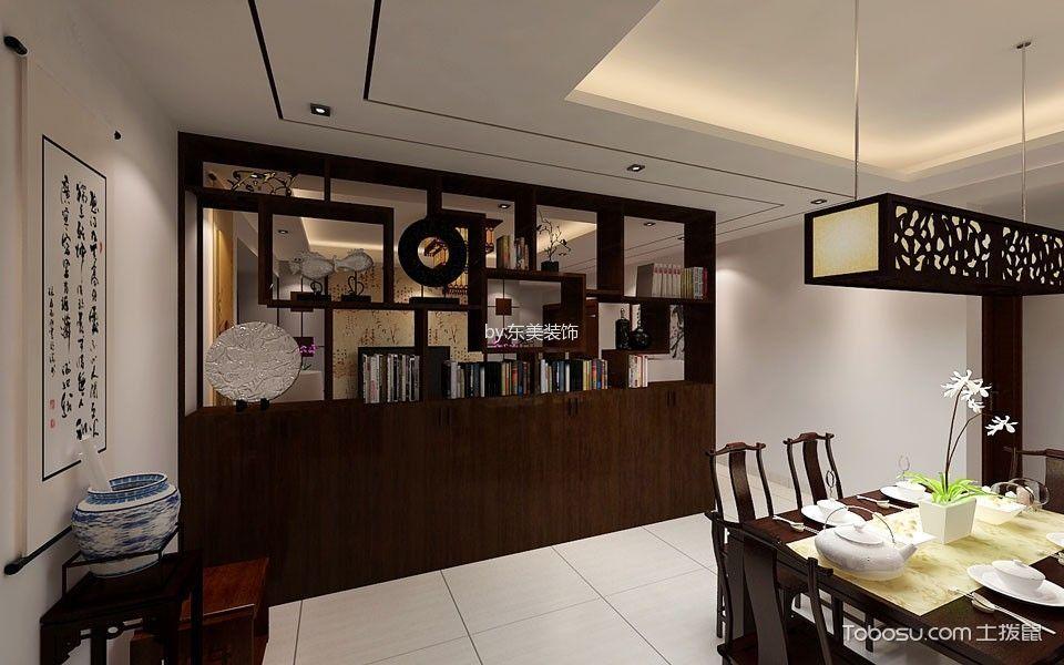 休闲餐厅中式装修案例