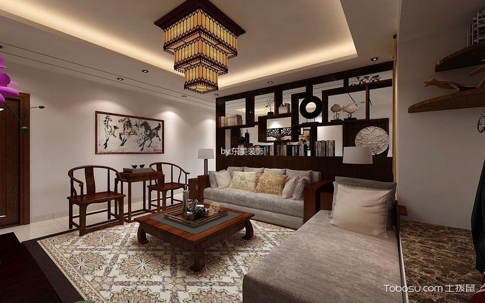 客厅黄色灯具装修方案