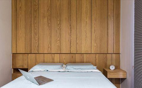 卧室咖啡色床现代风格装潢效果图
