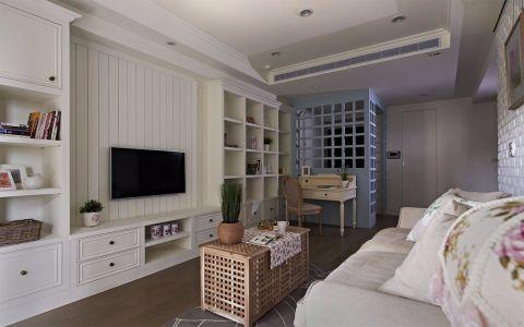 2020田园80平米设计图片 2020田园二居室装修设计