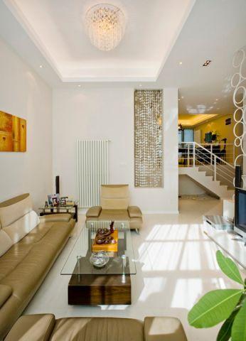 客厅白色背景墙构造图