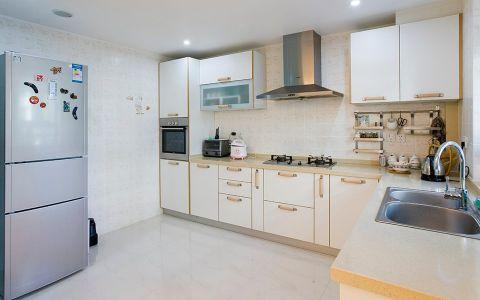 现代厨房背景墙装修设计图片