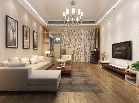 古朴客厅装潢图