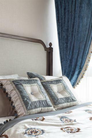 卧室白色背景墙设计效果图