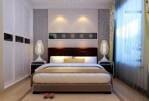 休闲卧室现代简约装修图