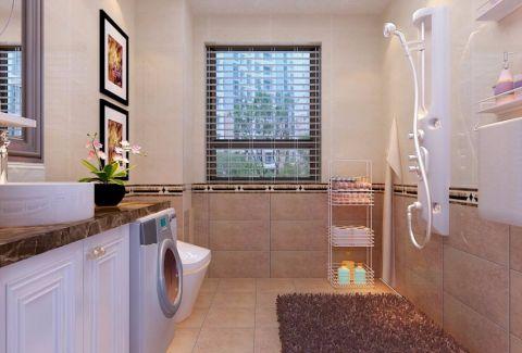 卫生间照片墙现代简约室内装饰