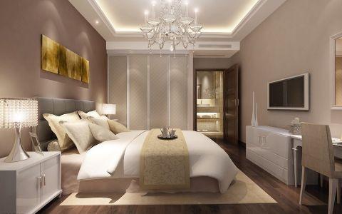 现代欧式卧室吊顶构造图