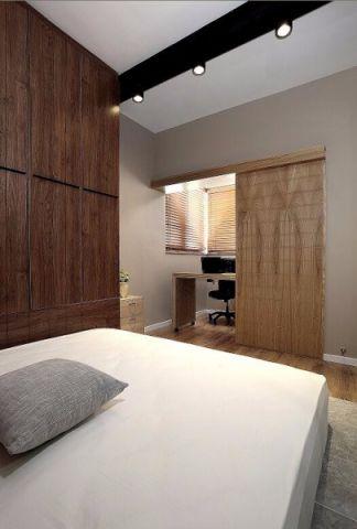 眩亮咖啡色卧室装饰图