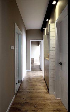 高贵风雅咖啡色走廊装修效果图