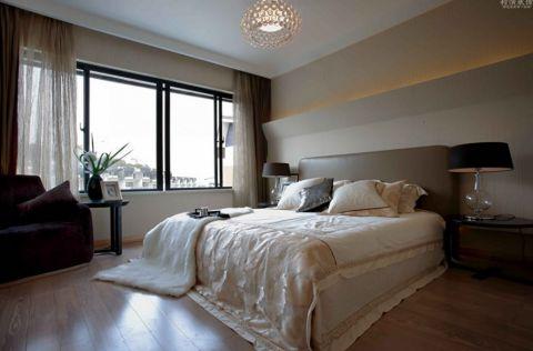 2019现代简约卧室装修设计图片 2019现代简约窗帘装修效果图片