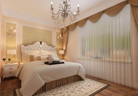 卧室米色吊顶装修设计图片