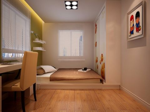 卧室照片墙现代简约装修设计图片