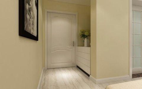 玄关米色照片墙简约风格装潢设计图片