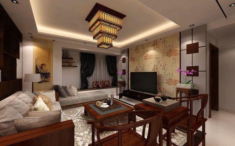 2018中式客厅装修设计 2018中式沙发装修设计