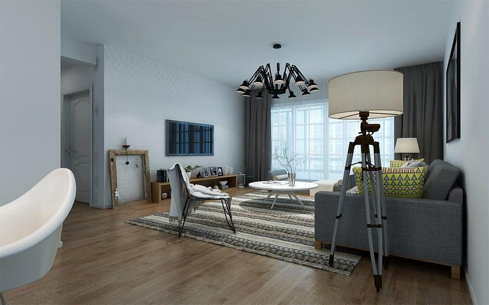 3室2卫2厅136平米现代风格
