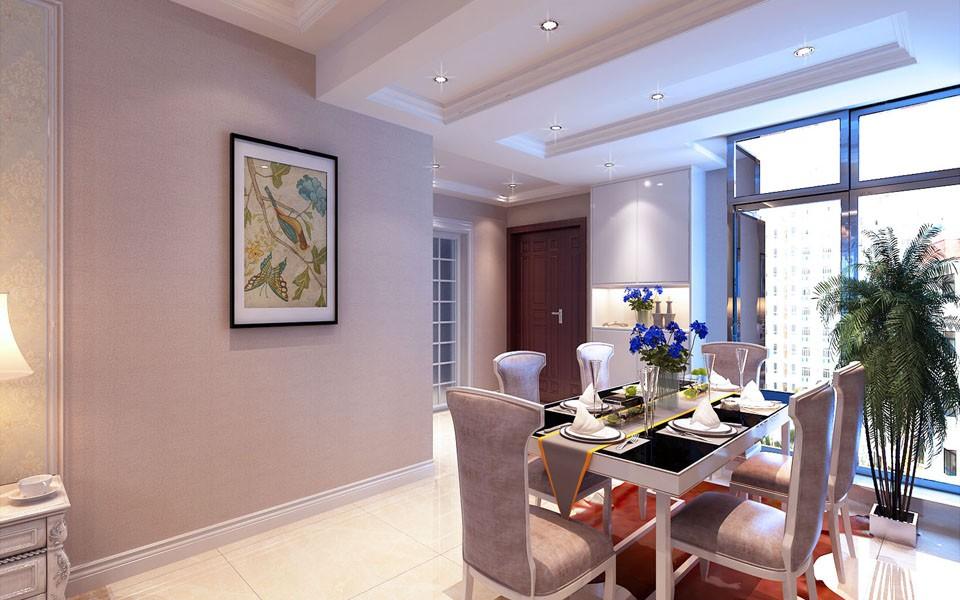 3室2卫2厅125平米简欧风格