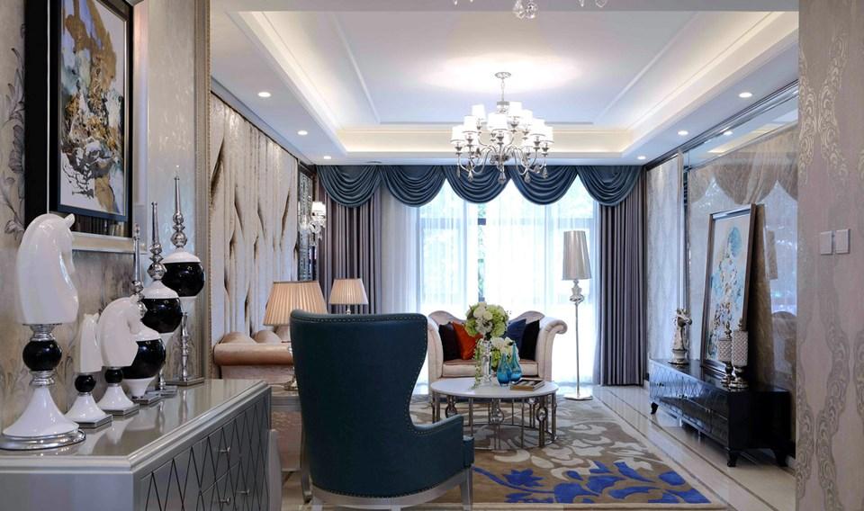 4室2卫2厅55平米简欧风格