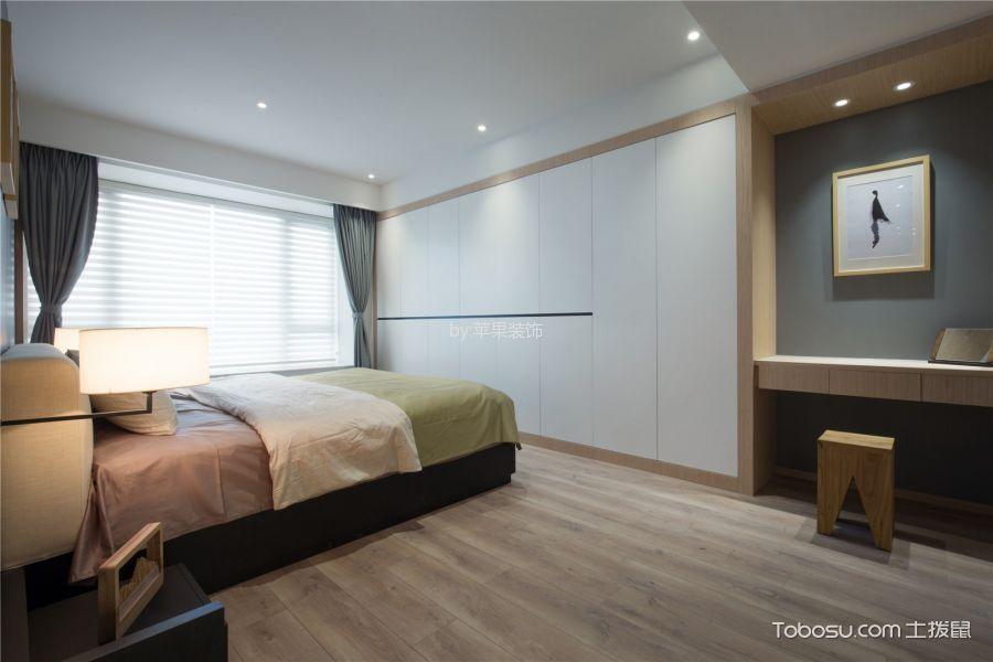 卧室白色衣柜现代风格装饰效果图
