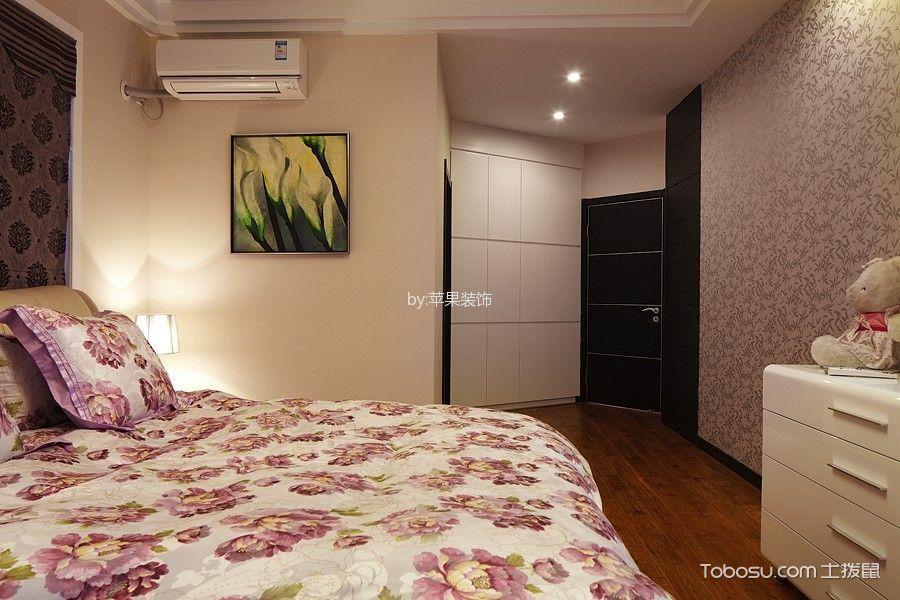 卧室黄色床现代风格装潢设计图片