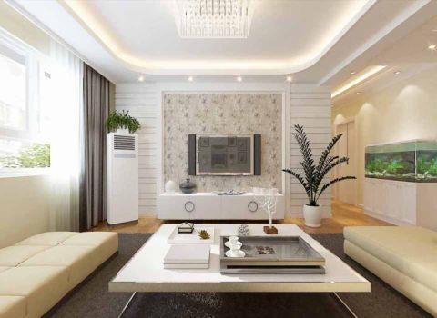 祥瑞家园两室一厅简欧风格效果图