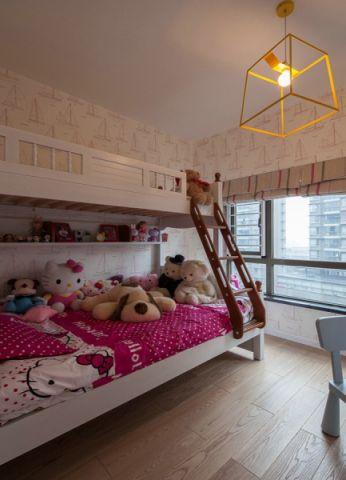 儿童房黄色吊顶现代简约风格装修效果图