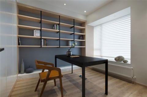 2019现代书房装修设计 2019现代书桌图片