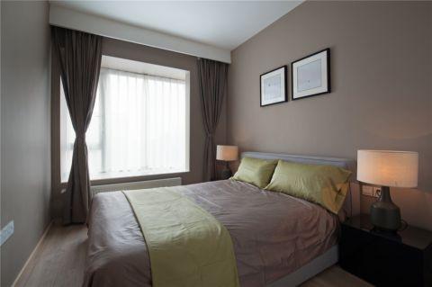低调优雅卧室现代效果图图片