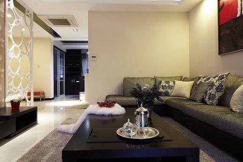 现代客厅茶几装饰图片