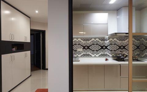2018现代厨房装修图 2018现代橱柜装修效果图片