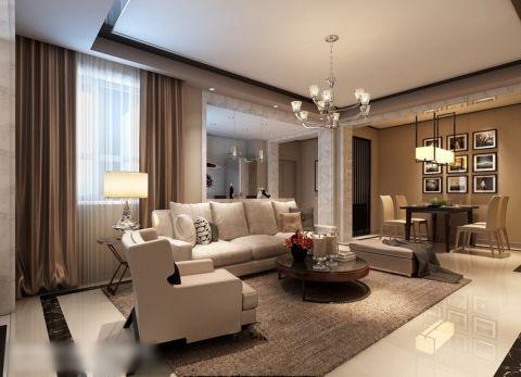2018现代简约客厅装修设计 2018现代简约设计图片