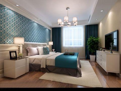 2018现代简约卧室装修设计图片 2018现代简约背景墙装修设计