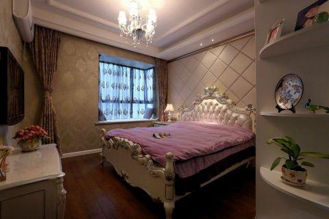 美轮美奂欧式白色床装修设计图片