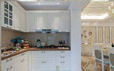 厨房背景墙法式风格效果图