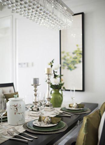 餐厅吧台简欧风格装饰效果图