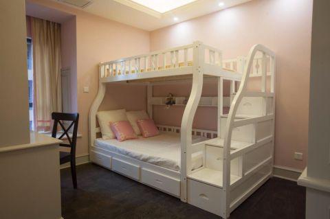 儿童房背景墙欧式风格装修效果图