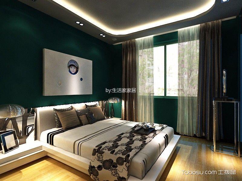 荣溪园一居室现代简约风格效果图