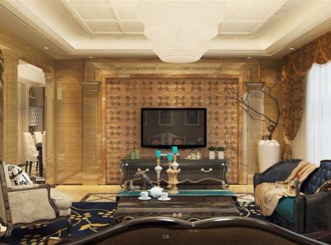 财专宿舍130平米欧式风格装修效果图