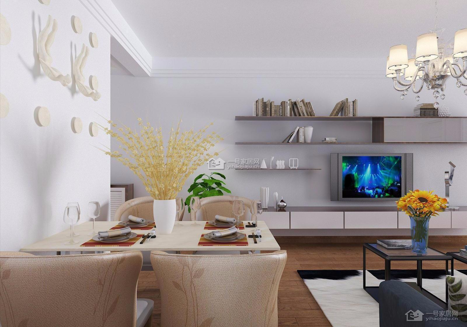 3室2卫2厅127平米现代简约风格
