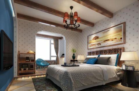 2018美式100平米图片 2018美式二居室装修设计