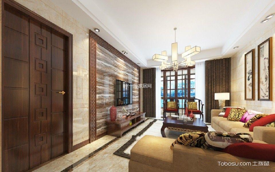 新中式一百七十平米四房二厅二卫