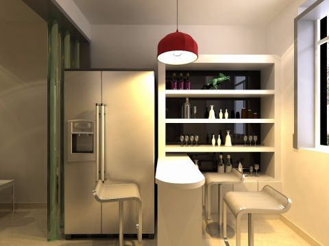 餐厅吧台现代风格装修设计图片