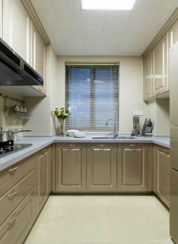厨房飘窗现代简约风格装饰图片