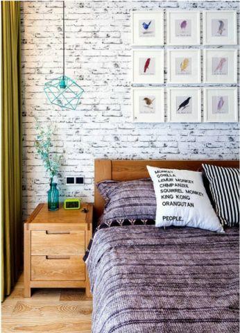 卧室混搭风格装潢图片