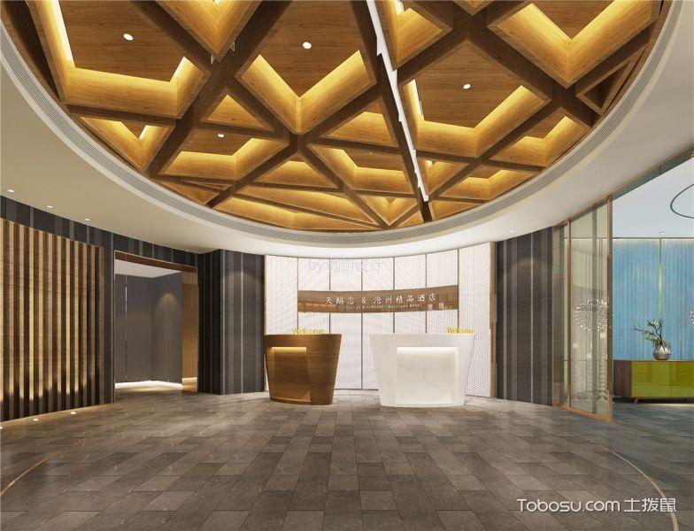 精品酒店室内大厅装饰效果图欣赏