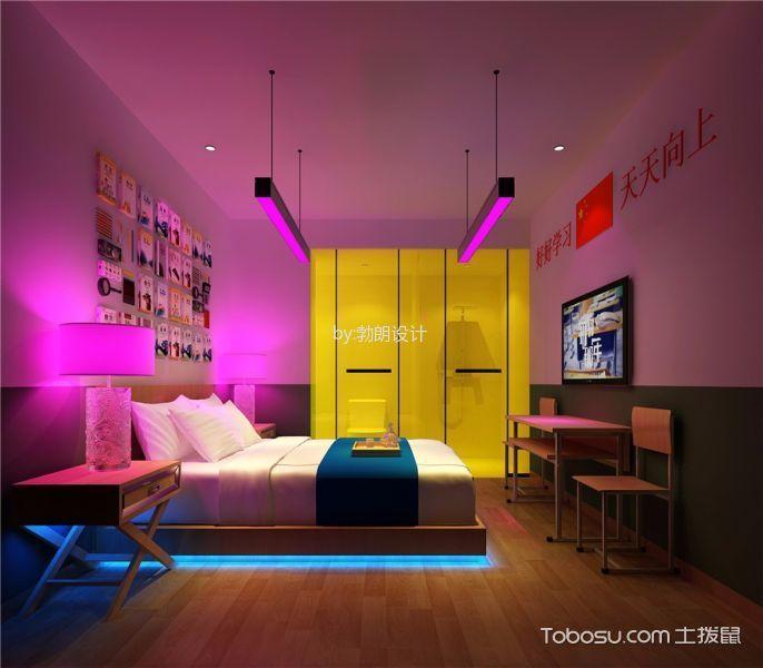 郑州半夏拾光主题酒店房间设计工装效果图