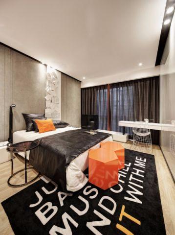2021简约90平米效果图 2021简约三居室装修设计图片