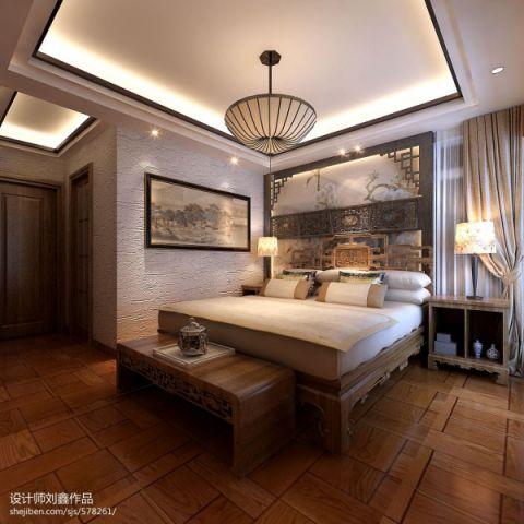 2021美式卧室装修设计图片 2021美式吊顶图片