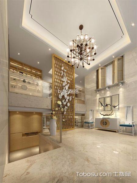 玄关白色门厅混搭风格装饰图片