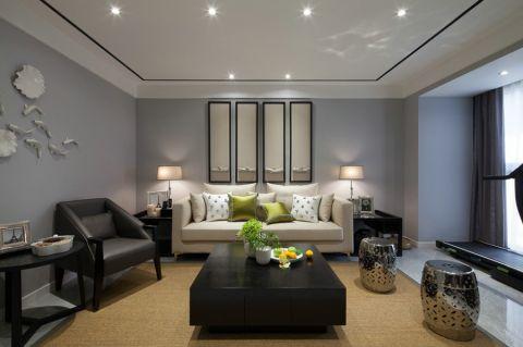 2019新中式100平米图片 2019新中式二居室装修设计